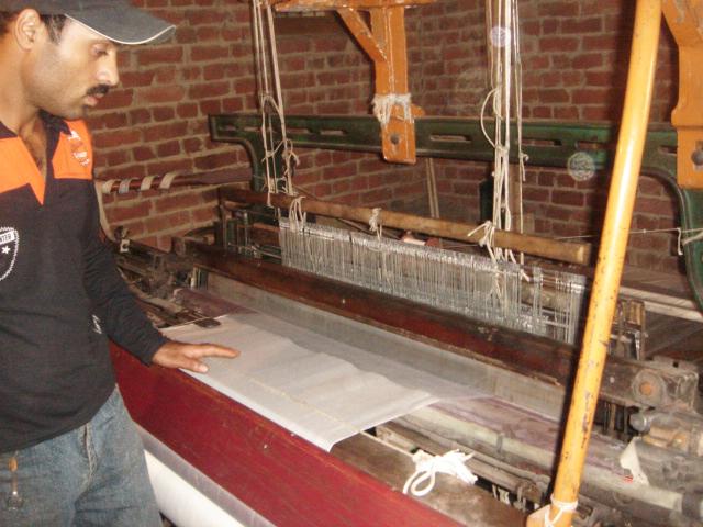 cashmere weaving