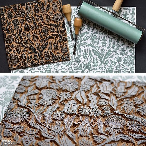 Make and do your own block prints ayurvastram